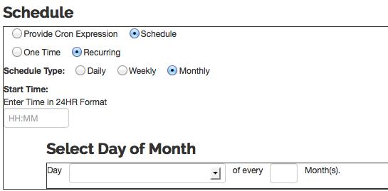 Batch/Scheduled Jobs